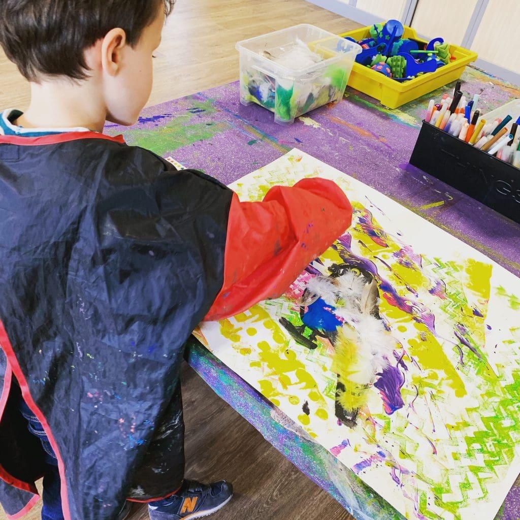 patouille peinture enfant clamart artgora