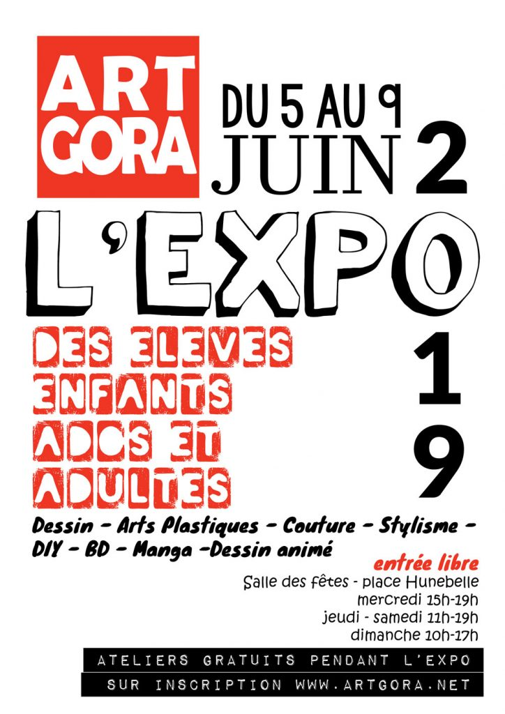 expo exposition eleves travaux